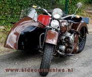 Harley with Geko sidecar