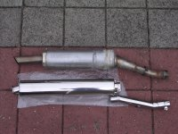 Tailormade longer muffler to replace